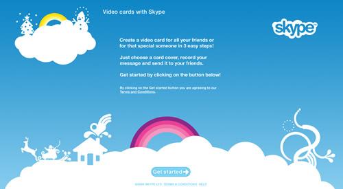 Skype Video Cards 500