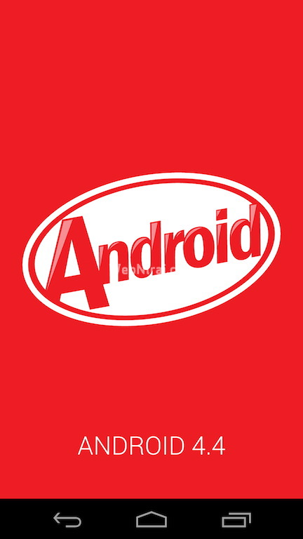 Android 4.4 KitKat About Screen