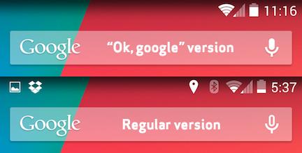 Android 4.4 KitKat Ok Google