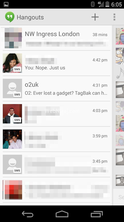 Hangouts SMS(1)