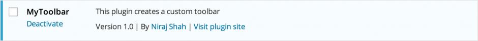 Install MyToolbar Plugin