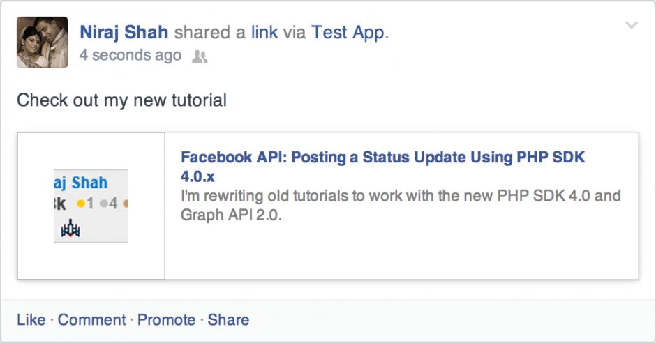 FB Status Update v4.0.x