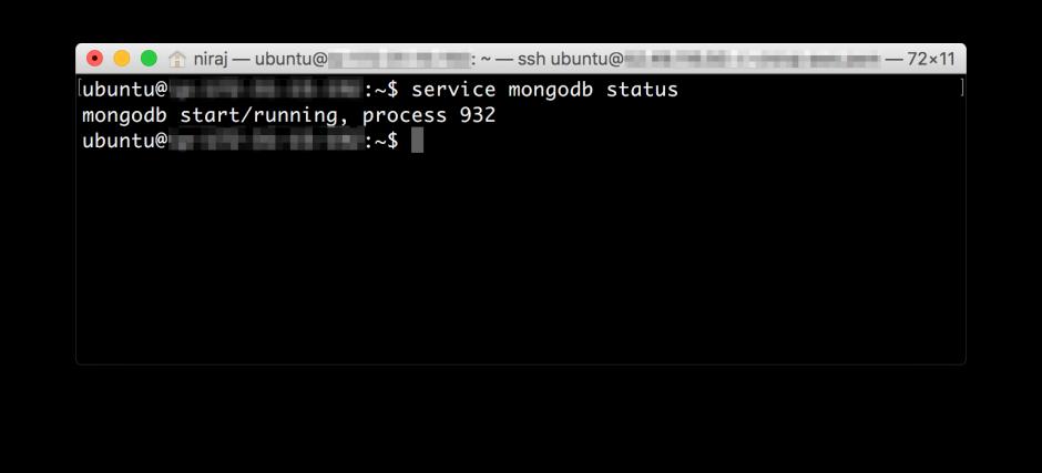 MongoDB-Status